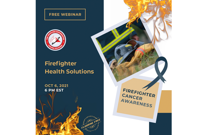 Upcoming Free Webinar – Firefighter Health Solutions hosted by Hazard Control Technologies
